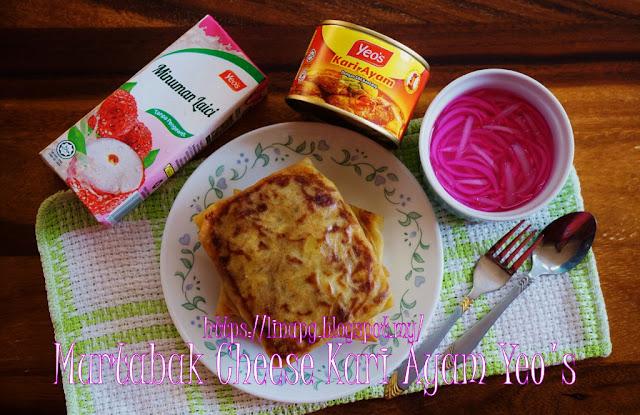 murtabak cheese mudah  sedap  guna kari ayam yeos  kulit popia teratak mutiara kasih Resepi Popia Ayam Kari Enak dan Mudah