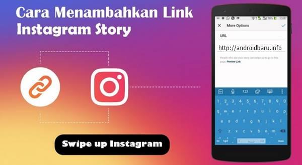 Cara Membuat Swipe Up link Di Instagram Stories