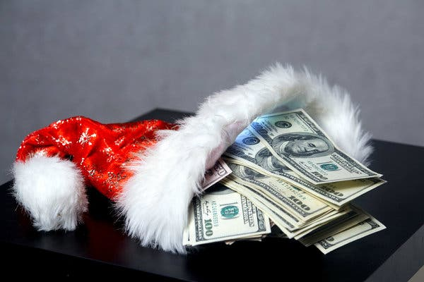 Sorteio de Natal de $ 500 em dinheiro