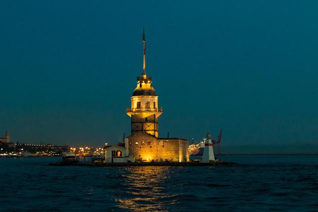 Torre di Leandro (Kiz Kulesi)-Uskudar (quartiere asiatico)-Istanbul