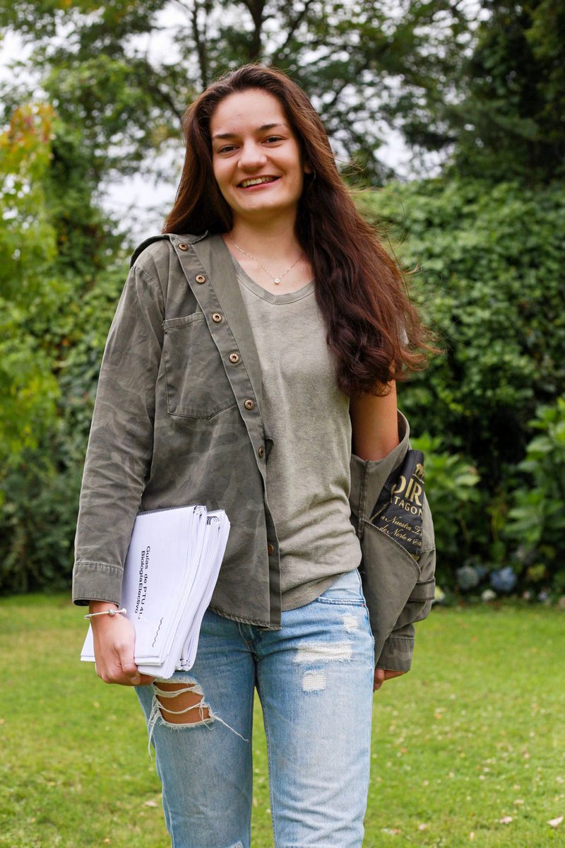 Antonia Schmohl dio la prueba con apendicitis