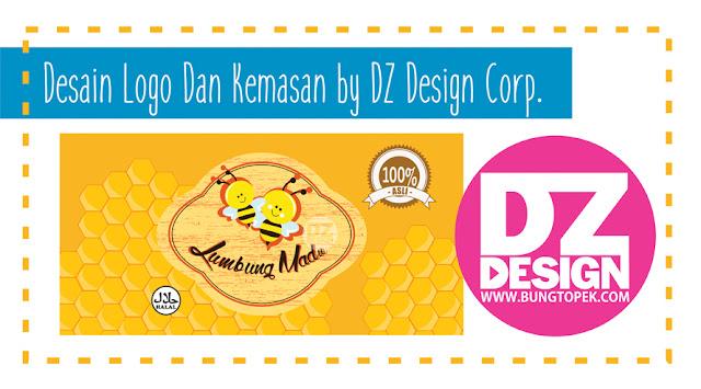 Desain Logo dan Kemasan Produk Madu - Probolinggo