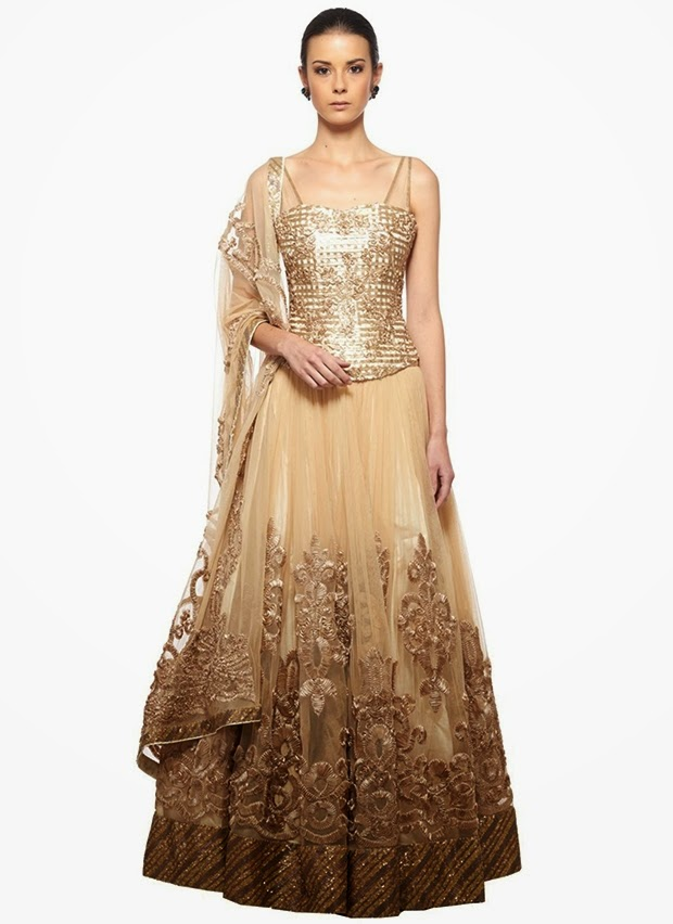 designer neeta lulla launches her festive gold collection