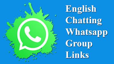 English Chatting Whatsapp Group Links