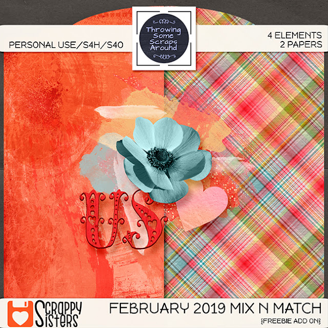 The February 2019 Mix N Match is here! A Freebie too!