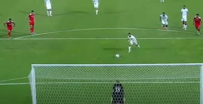 قطر تفوز على عُمان ضمن منافسات المجموعة الخامسة