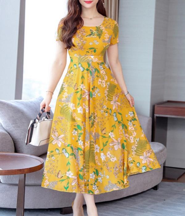 Vestidos Amarelos - Alegria e Confiança aos Looks