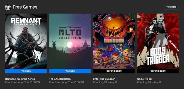 Batas Waktu Game Remnant dan The Alto Collection Gratis