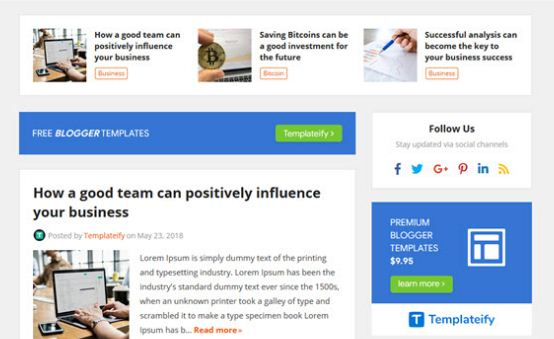 Menampilkan Popular Post sebagai Featured Post di Homepage Blog