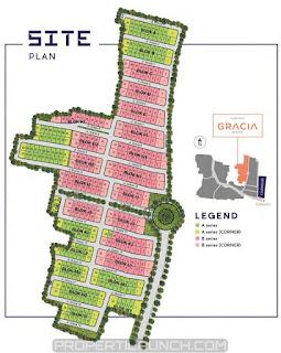 Site Plan Cluster GRACIA Lavon Cikupa