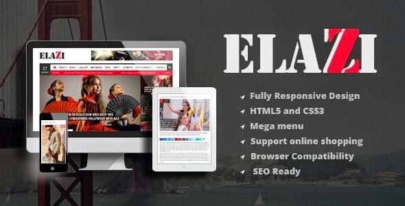 Best Magazine Responsive WordPress Theme