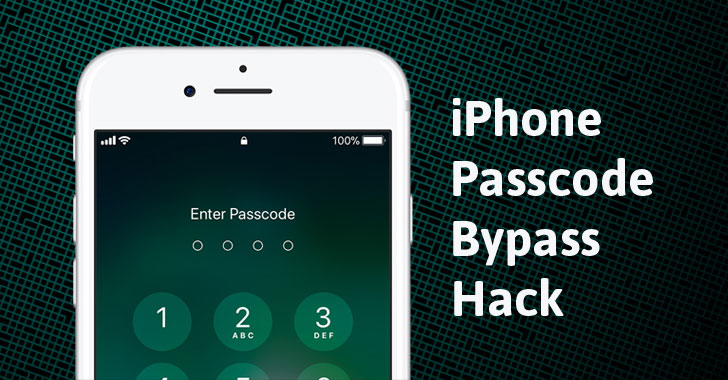 ios12 iphone passcode bypass hack
