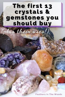 Natural gemstones. Geodes, points, clusters