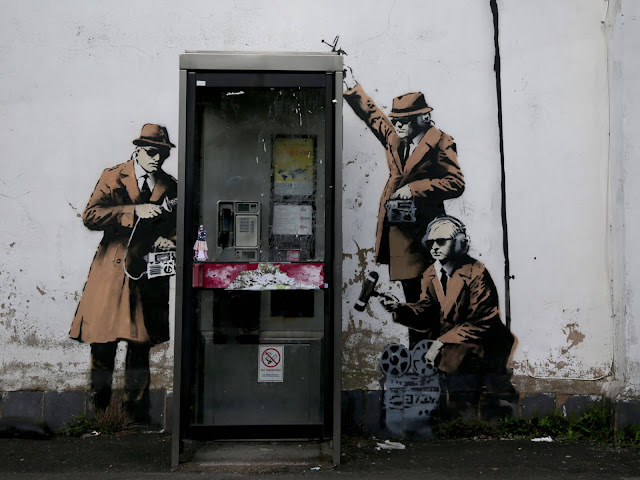 Banksy - Spy Booth