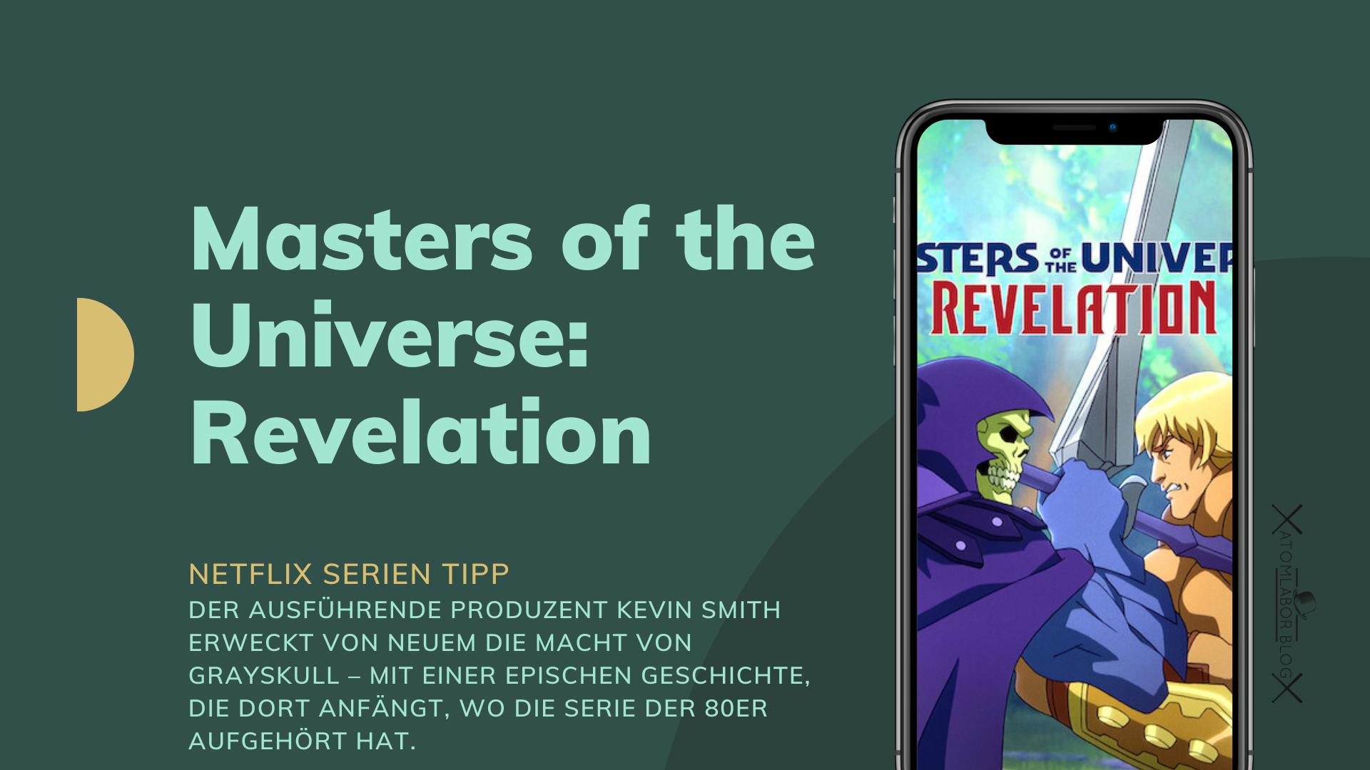 Masters of the Universe: Revelation   Kevin Smith x Netflix bringen He Man zurück