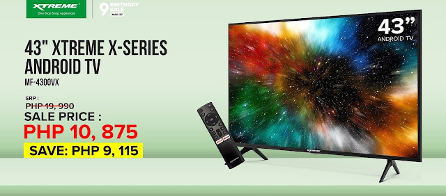 "43"" XTREME X-Series Android TV"