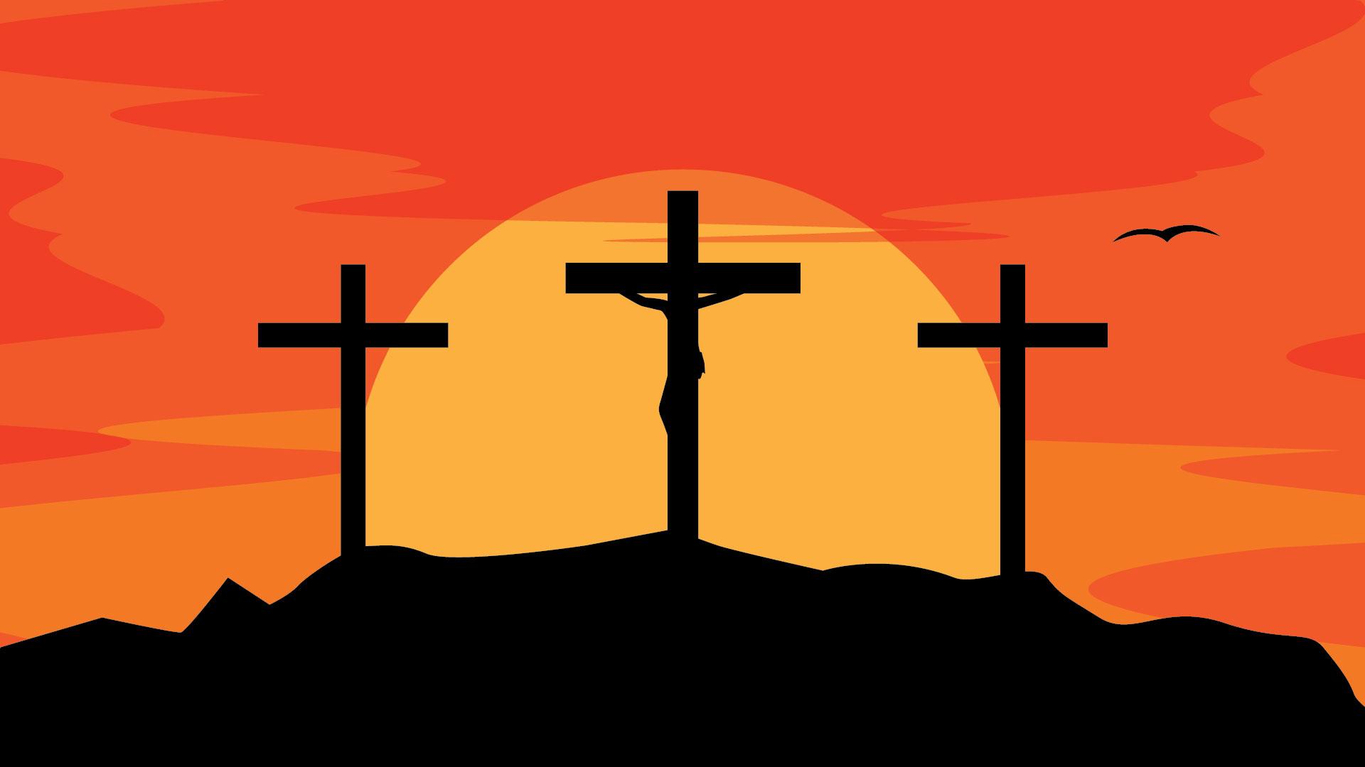 Kumpulan Background Salib Paskah Full HD 1080P Mas Vian