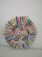 Paper Art, rolled paper, cirkel van papier