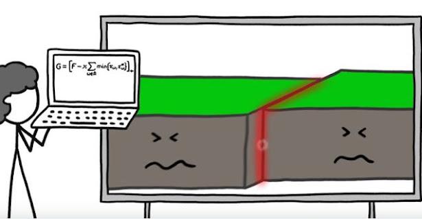 زلزال عنيف