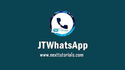 Download JTWhatsApp v8.60 Apk Latest Version Android,Aplikasi JT WhatsApp plus JiMods v8.60 Terbaru 2020,tema whatsapp mod keren 2020,wa mod anti ban