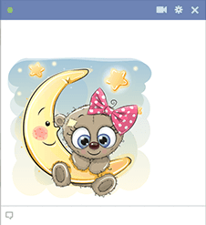 Moon Teddy Emoji