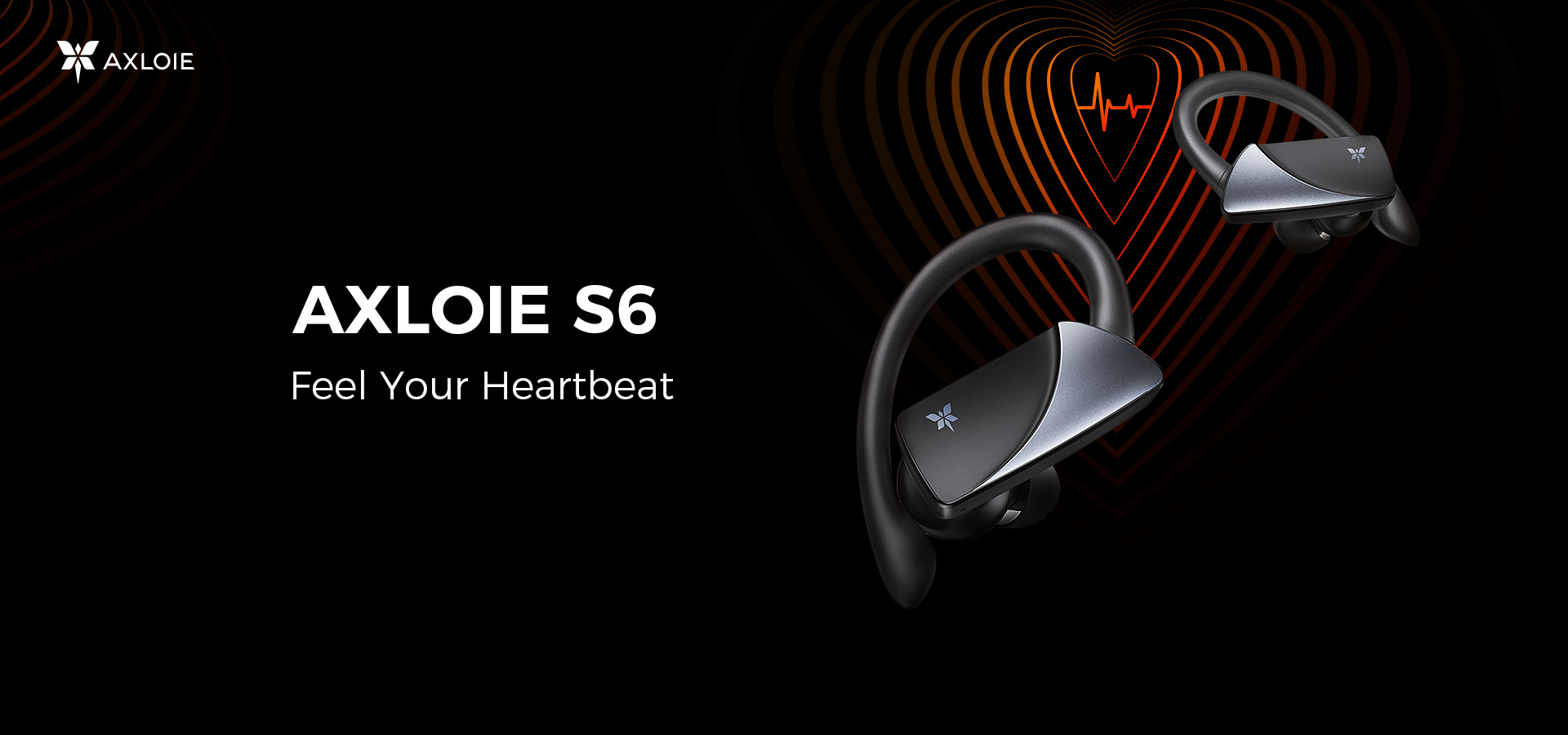 AXLOIE S7 and AXLOIE S6 Sports Earbuds Custom Designed for Fitness Enthusiasts