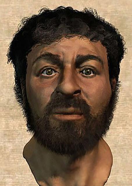 como era o rosto de jesus