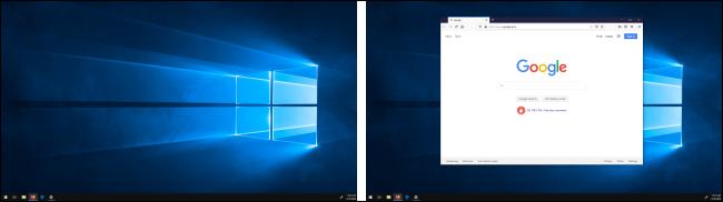 تم نقل النافذة بين شاشات العرض في Windows 10