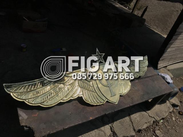 Logo TNI AU Kuningan Tembaga