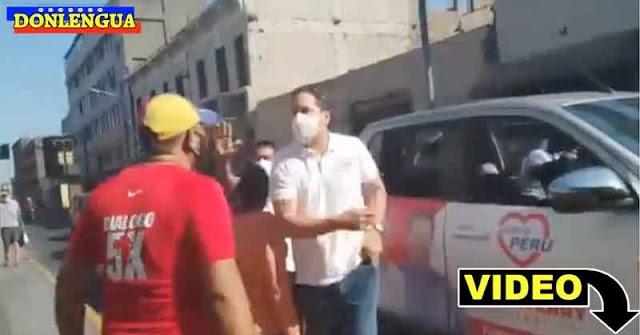 Venezolano en Perú es amenazado por el candidato a presidente Daniel Salaverry