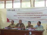 Digelar Konsultasi Pertama Kabupaten Bima untuk Penyusunan Roadmap Program Kompak di Provinsi NTB