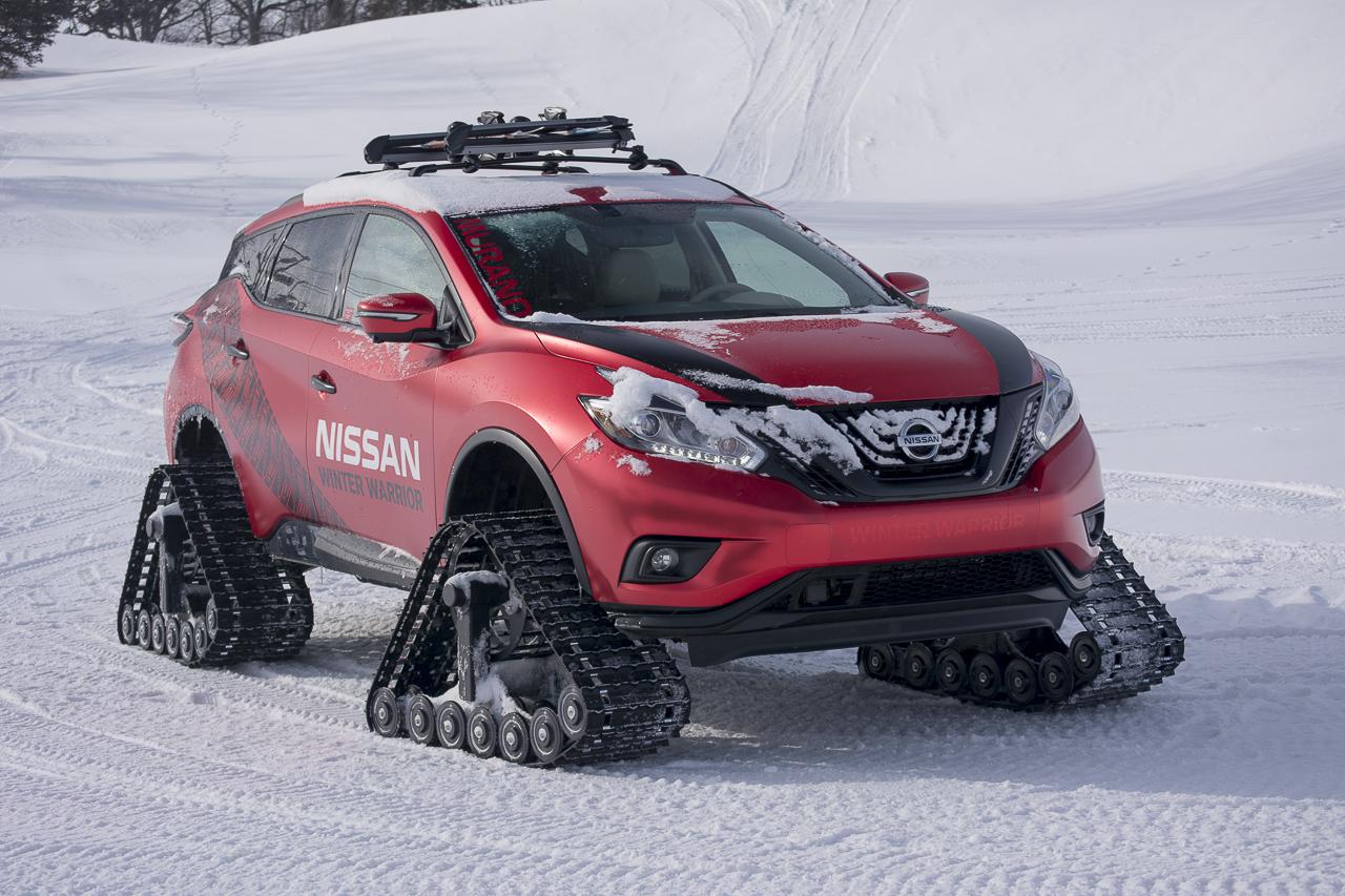 automotiveblogz: nissan murano winter warrior concept drive