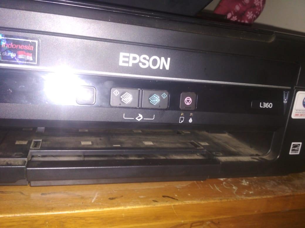 Mengatasi Tinta Tidak Keluar Setelah Isi Printer Epson L360 Kopoen L 360