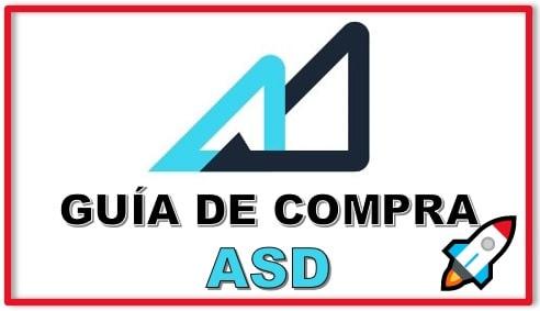 Cómo y Dónde Comprar Criptomoneda ASD Tutorial Actualizado