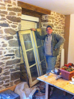 Replacing old French windows