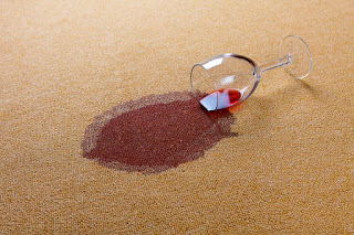 how to remove spills and stains from carpet