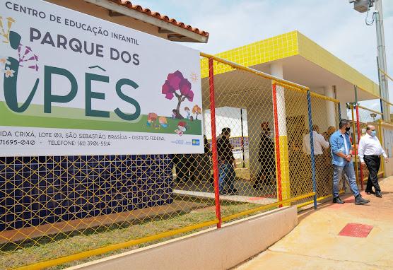 São Sebastião ganha novas estruturas para a educação