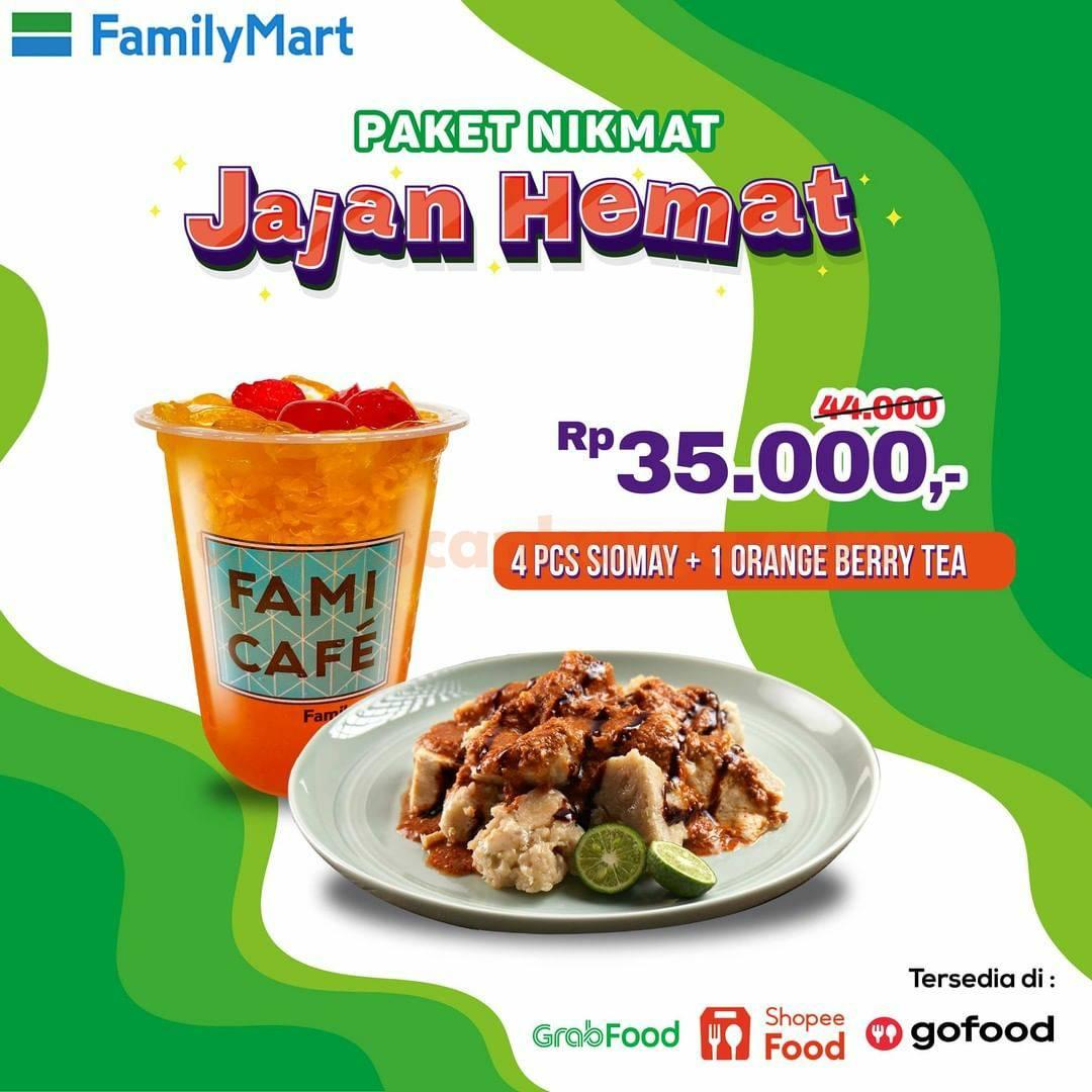 Promo Family Mart sd 30 September 2021 - Paket Nikmat Jajan Hemat cuma 35RB