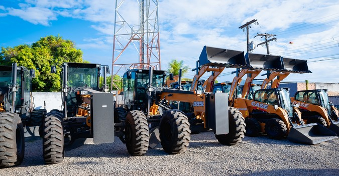 CASE entrega frota de equipamentos para atuar na infraestrutura de Roraima (RR)
