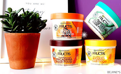 4 Masque Fructis Hair Food de Garnier - Notino