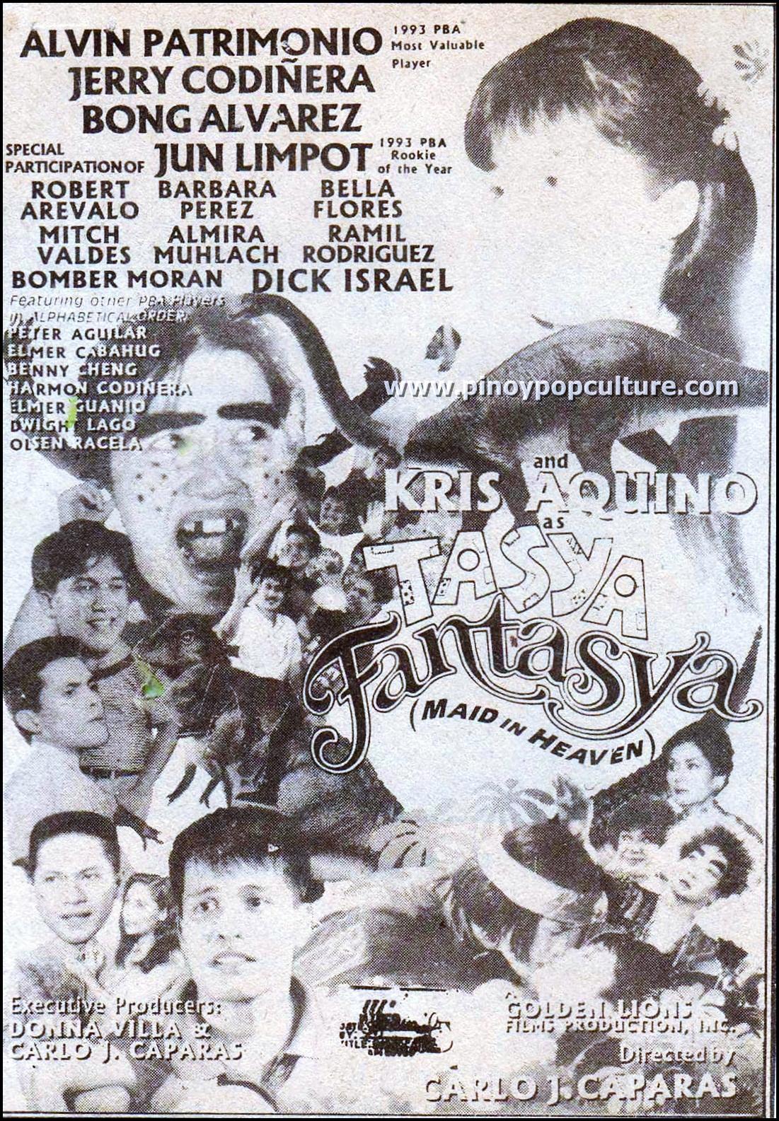 Alvin Patrimonio And Kris Aquino