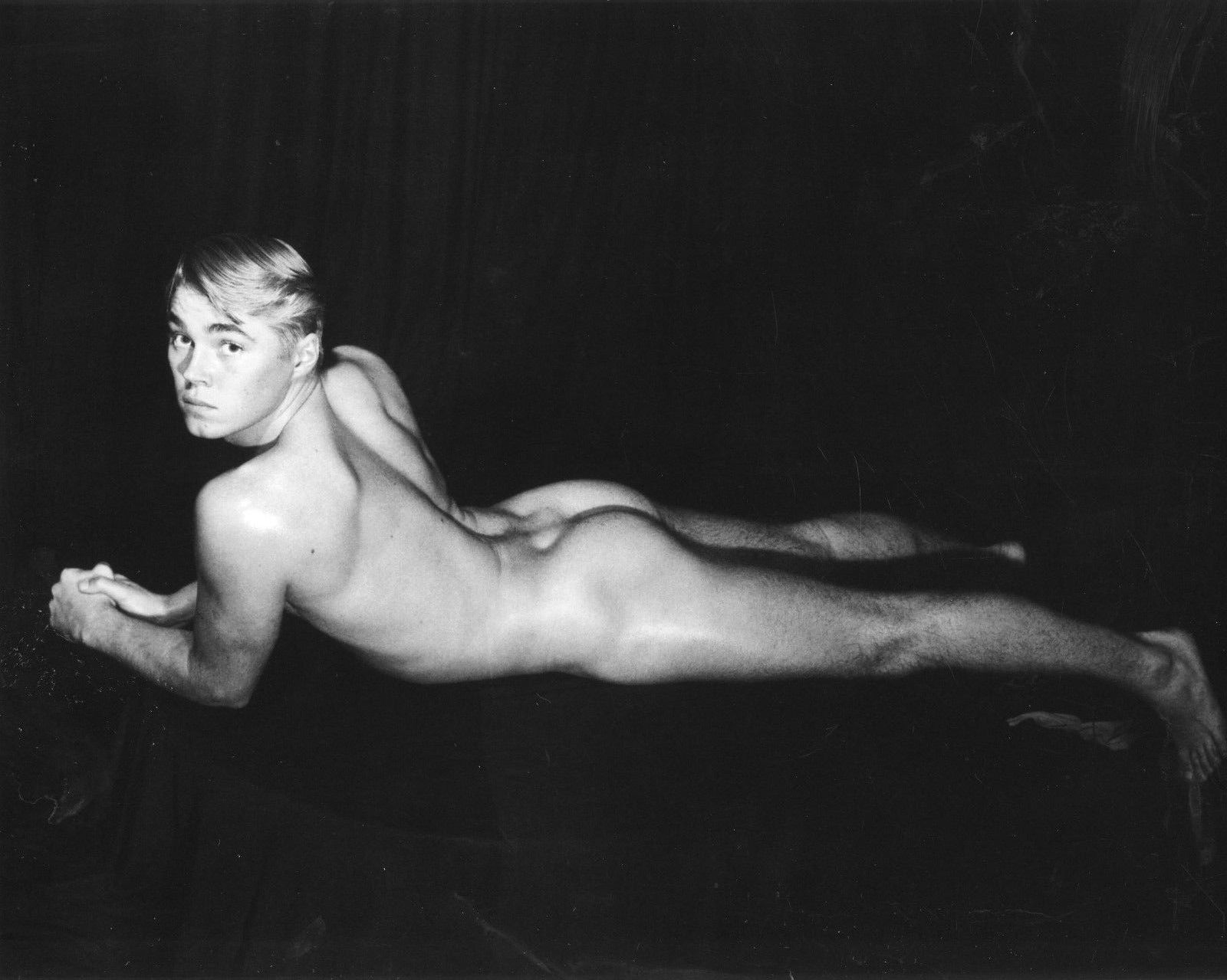 Jan Smithers Nude male models vintage beefcake: dennis cole photographed