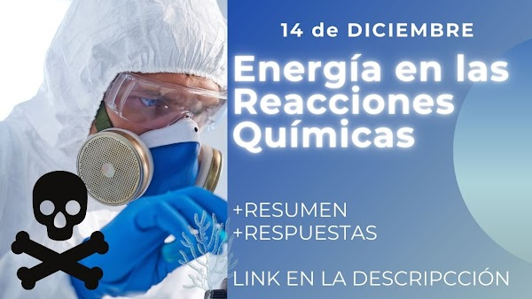 ▷ ¿Cómo explico los intercambios de energía en las reacciones químicas?