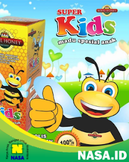 Natural Honey Super Kids Penambah Nafsu Makan Anak
