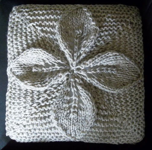 Chunky Cushion Knitting Pattern