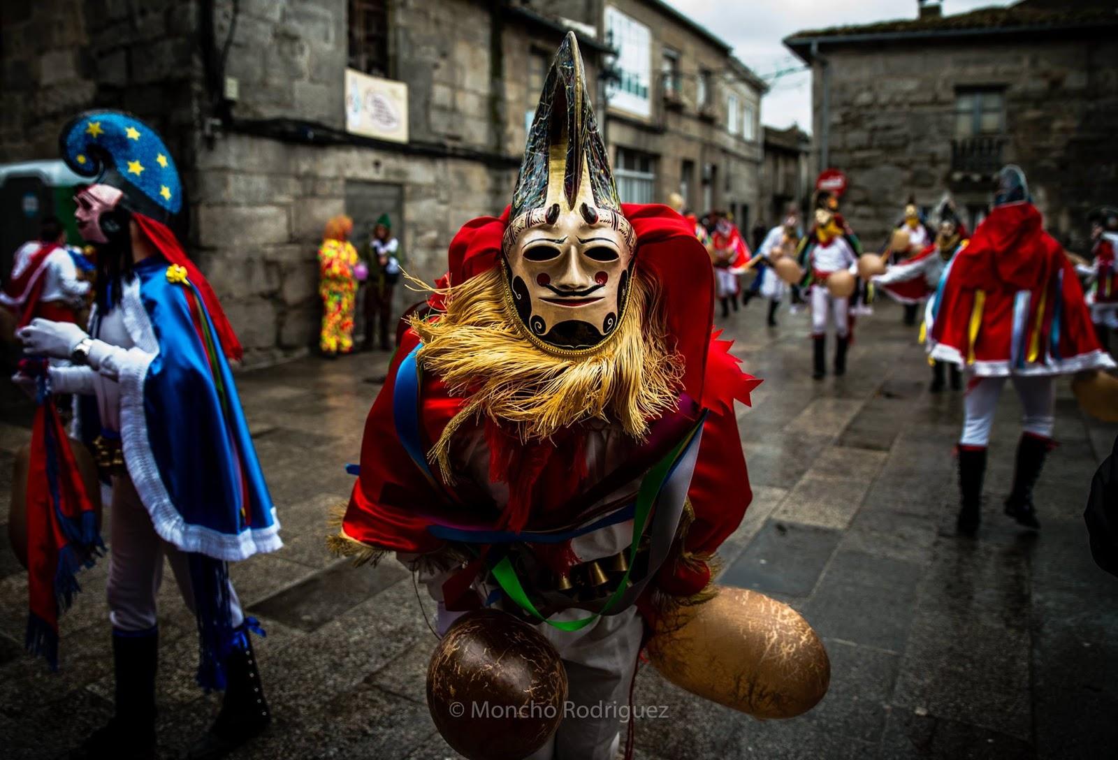 Comienza el carnaval en xinzo de limia vigopeques - Moncho fotografo ...
