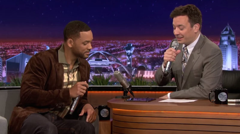 Atomlabor Blog Musikvideo - Will Smith und Jimmy Fallon beatboxen 'It Takes Two'