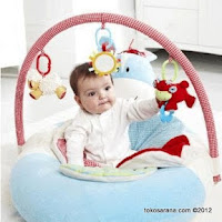 ELC Blossom Farm 3 in One Sit Me up Cozy