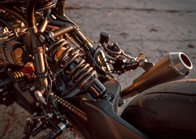 Honda CB900 By NCT Motorcycles Hell Kustom