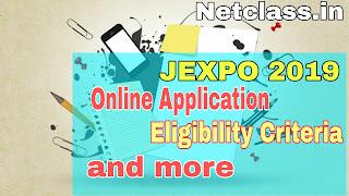 JEXPO 2019 Online Apply